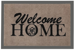 fussmatte hanse home welcome home rutschhemmend. Black Bedroom Furniture Sets. Home Design Ideas