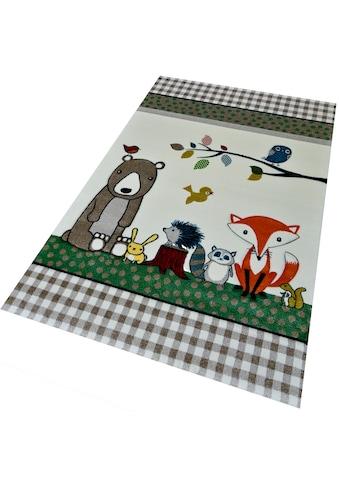 merinos Kinderteppich »Diamond Kids 485«, rechteckig, 13 mm Höhe kaufen