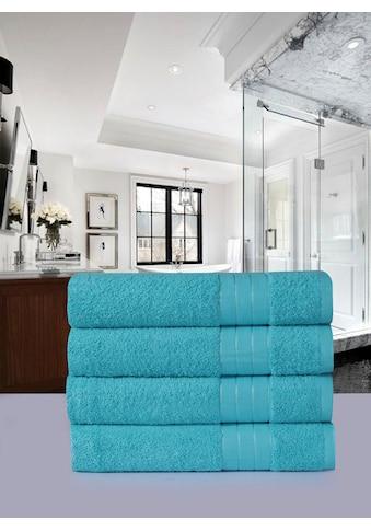 Emotion Handtücher »Uni«, (4 St.), mit grosser Farbauswahl kaufen