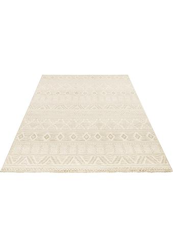 ELLE DECORATION Teppich »Roanne«, rechteckig, 11 mm Höhe, dichter Kurzflor, Boho-... kaufen