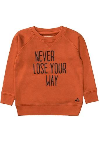 BASEFIELD Sweatshirt »NEVER LOSE YOUR WAY« kaufen