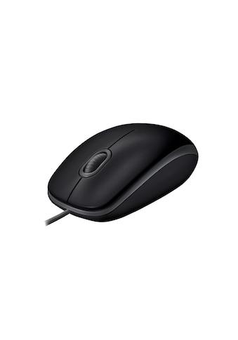 Logitech Maus »B110 Black«, kabelgebunden kaufen