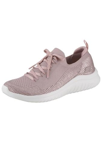 Skechers Slip-On Sneaker »Ultra Flex 2.0«, mit Metallic-Schimmer kaufen