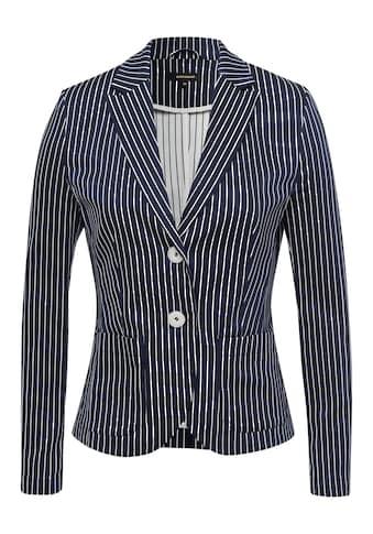 MORE&MORE Striped Double Blazer Active kaufen