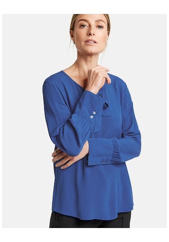 GERRY WEBER Bluse 1/1 Arm »Langarmbluse mit Schluppe« kaufen