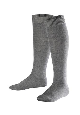 FALKE Kniestrümpfe »Comfort Wool«, (1 Paar), Baumwolle/Merinowolle-Mix kaufen