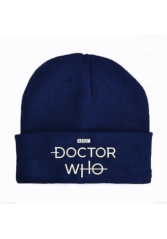 Nastrovje Potsdam Strickmütze »BBC Doctor Who Logo« kaufen