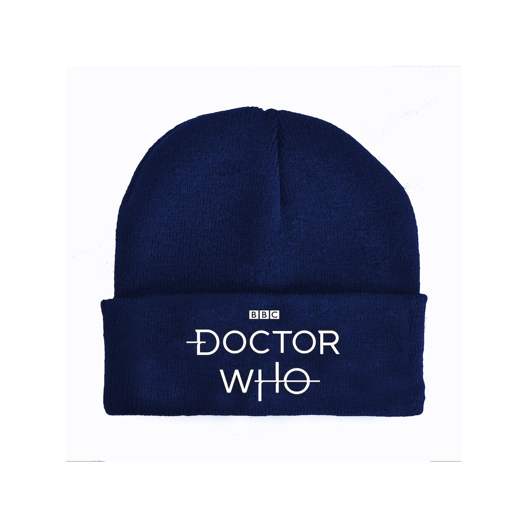 Nastrovje Potsdam Strickmütze »BBC Doctor Who Logo«