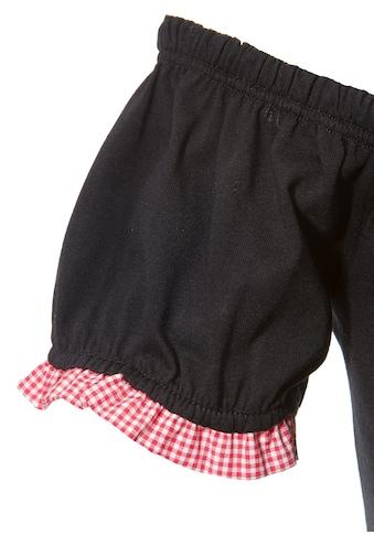 Andreas Gabalier Kollektion Trachtenshirt Damen im Carmen Look kaufen