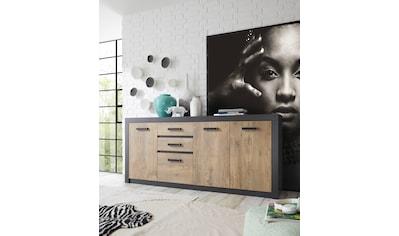 my home Sideboard »Brügge«, Mit einer dekorativen Rahmenoptik kaufen