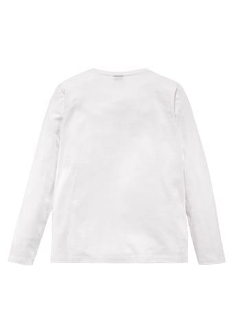 Arizona Langarmshirt »CHILL MAL....« acheter