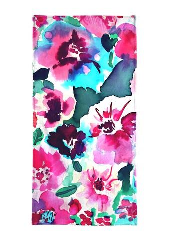 """Handtuch """"Zoe Floral Pink"""", Juniqe kaufen"""