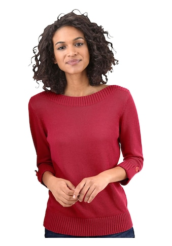 Casual Looks Pullover in angesagter Optik kaufen