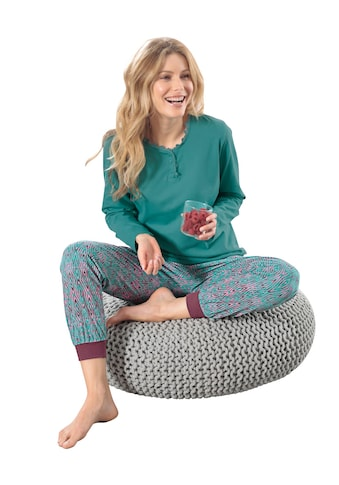 wäschepur Schlafanzug - Shirt mit Rundhals - Ausschnitt kaufen