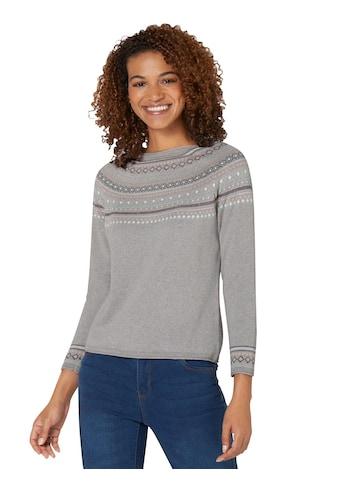 Inspirationen Norwegerpullover »Pullover« kaufen