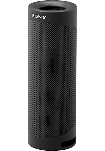 Sony Bluetooth-Lautsprecher »SRS-XB23 tragbarer, kabelloser«, 12h Akkulaufzeit, wasserabweisend, Extra Bass kaufen
