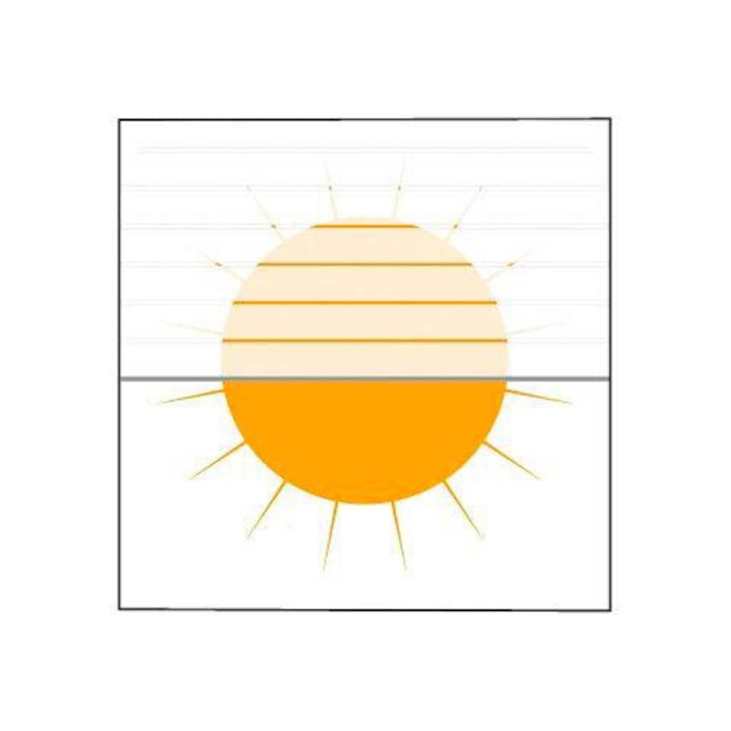 sunlines Plissee nach Mass »Medoc«, Lichtschutz, Perlreflex-beschichtet, mit Bohren, verspannt