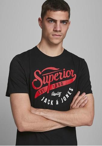 Jack & Jones T-Shirt »LOGO TEE« kaufen