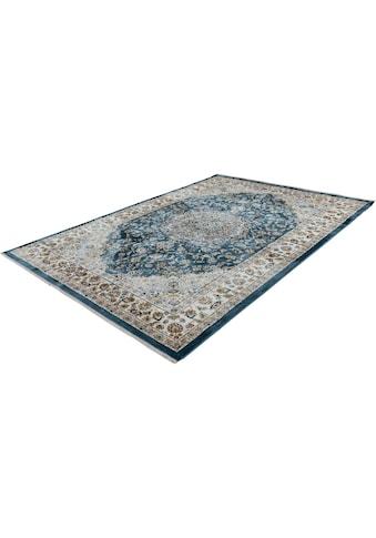 LALEE Teppich »Classic 700«, rechteckig, 11 mm Höhe, Kurzflor, Orient-Optik, mit Fransen, Wohnzimmer kaufen