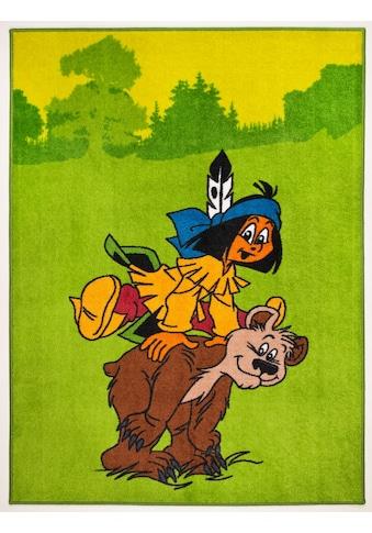 YAKARI Kinderteppich »Yakari und der Bär«, rechteckig, 10 mm Höhe kaufen