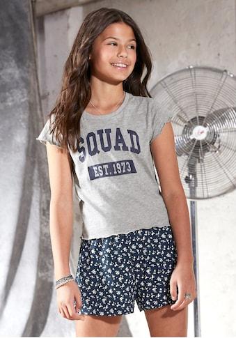 Arizona T-Shirt, in kurzer kastiger Form kaufen
