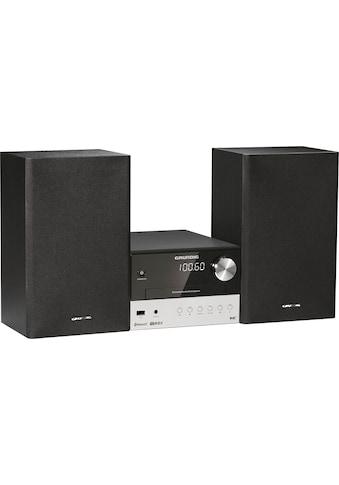 Grundig Kompaktanlage »CMS 2000 BT Micro-«, Bluetooth, Display mit... kaufen