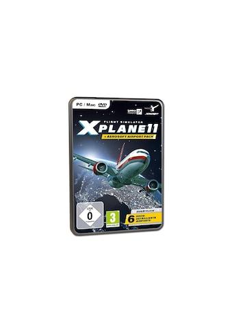 Spiel »X-Plane 11 + Aerosoft Airport Pack«, PC, Bundleieferart kaufen