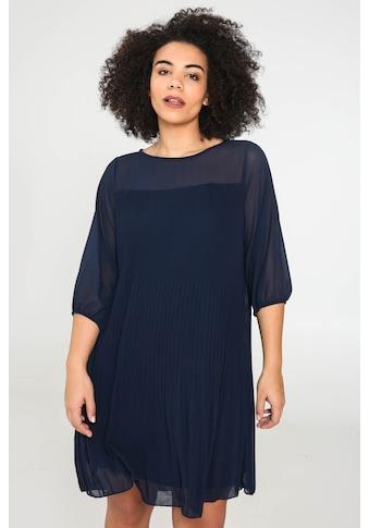 Paprika Chiffonkleid »Rundhals Uniform« kaufen