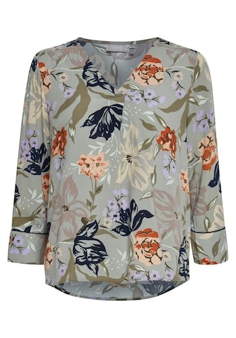 fransa Langarmbluse »Fransa Langarm Bluse mit Allover Print«, Bluse mit Blumenprint kaufen