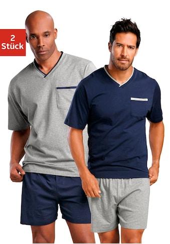 le jogger® Shorty, (2 Stück), mit Brusttasche kaufen
