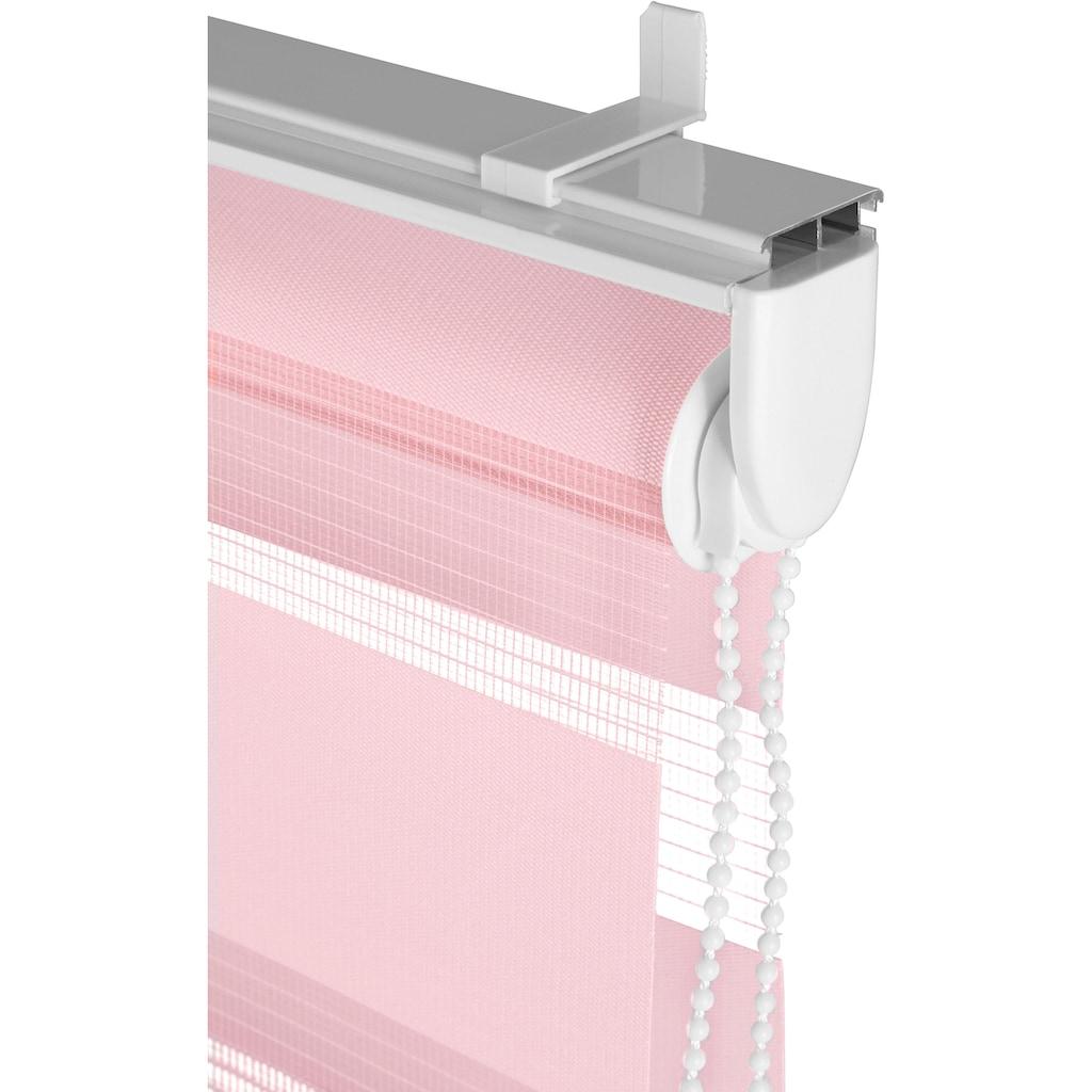 my home Doppelrollo »MARANO«, Lichtschutz, ohne Bohren, freihängend, im Fixmass, Rollo mit Klemmträger, mit über 3.200 positive Bewertungen