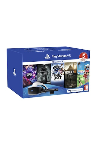 VR - Headset, Sony Ericsson, »PlayStation VR Mega Pack (inkl. 5 Spiele Voucher)« kaufen