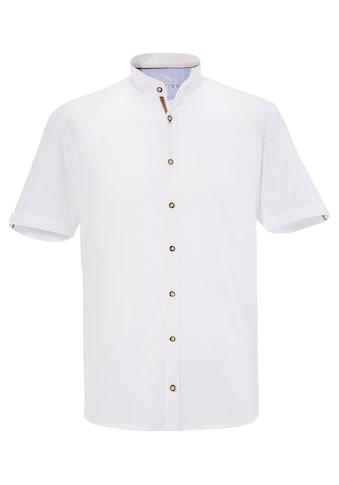Murk Trachtenhemd mit abgerundetem Saum kaufen