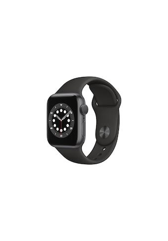 Apple Smartwatch »Serie 6, GPS, 40 mm Aluminium-Gehäuse mit Sportarmband«, (Watch OS... kaufen