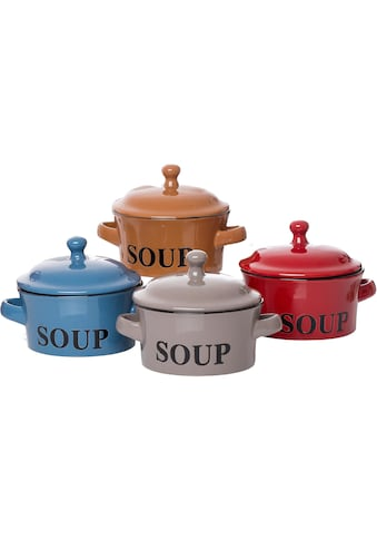 Ritzenhoff & Breker Suppenteller »Regina«, (Set, 4 St.), Steinzeug kaufen