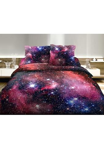 HOME FASHION Bettbezug »Galaxy«, (1 St.), Digitaldruck kaufen