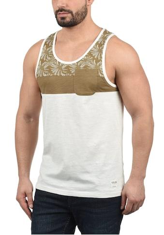 Solid Tanktop »Flo«, ärmelloses Shirt mit Blumen-Print kaufen