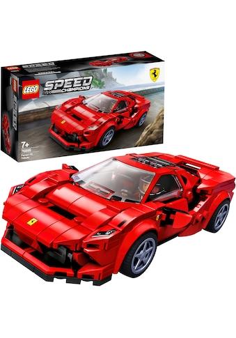 """LEGO® Konstruktionsspielsteine """"Ferrari F8 Tributo (76895), LEGO® Speed Champions"""", Kunststoff, (275 - tlg.) kaufen"""