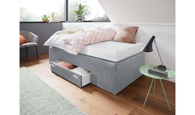 Westfalia Schlafkomfort Boxspringbett, mit integrierter Schublade, frei im Raum stellbar kaufen
