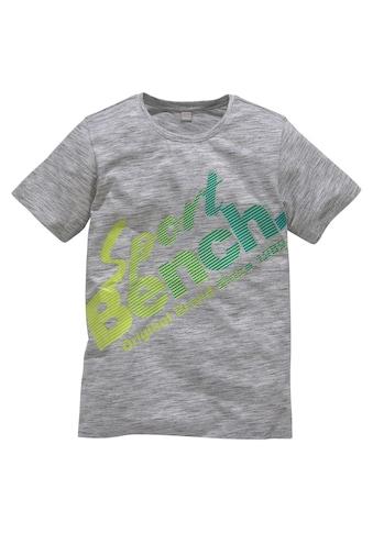 Bench. T-Shirt, mit coolem Druck kaufen
