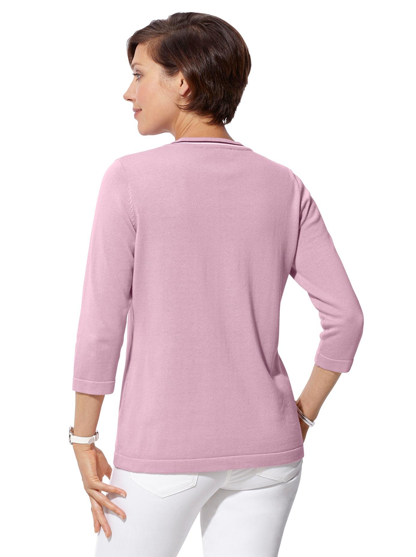 Image of Casual Looks Pullover in der beliebten 2-in-1-Optik