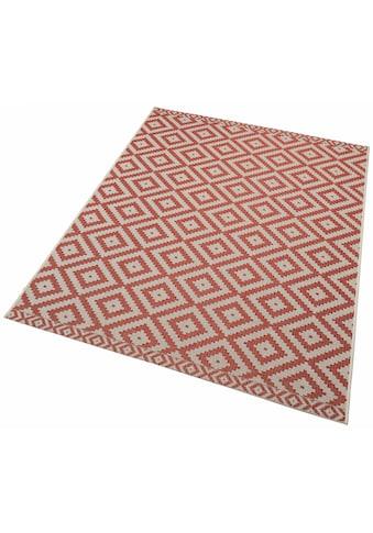 freundin Home Collection Teppich »Summer«, rechteckig, 4 mm Höhe, In- und Outdoor geeignet, Wohnzimmer kaufen