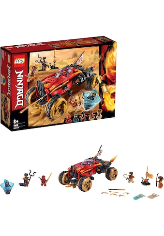 "LEGO® Konstruktionsspielsteine ""Katana 4x4 (70675), LEGO® NINJAGO®"", Kunststoff, (450 - tlg.) kaufen"