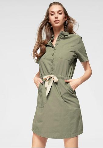 AJC Hemdblusenkleid, mit Bindeband in der Taillie kaufen