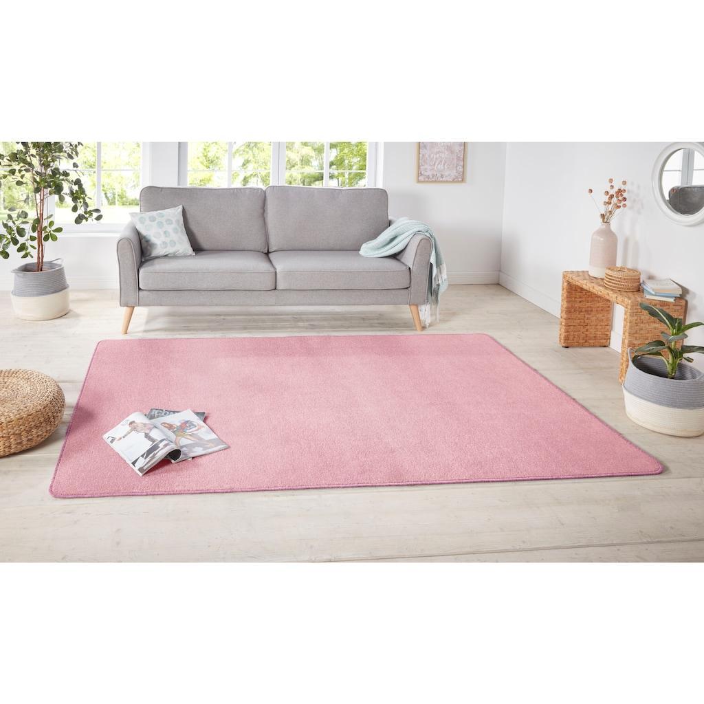 HANSE Home Teppich »Shashi«, rechteckig, 8,5 mm Höhe, ringsum gekettelt, Wohnzimmer