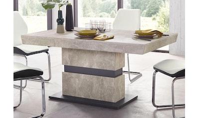 Homexperts Säulen - Esstisch »Marley« kaufen