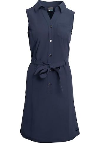 Polarino Blusenkleid, mit Knopfleiste und Bindegürtel kaufen