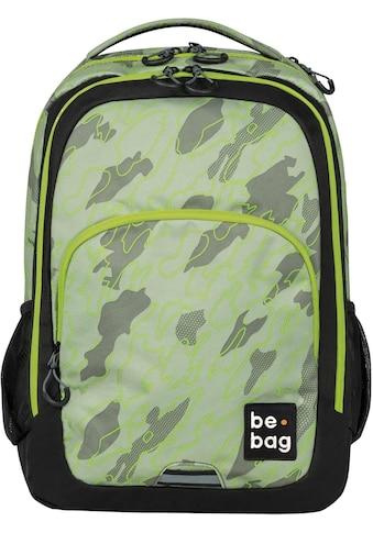 Herlitz Schulrucksack »be.bag be.ready, abstract camouflage«,... kaufen