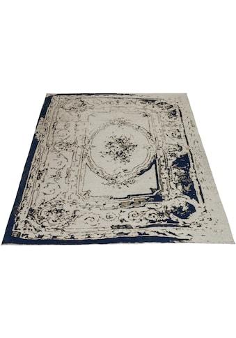 DELAVITA Teppich »Hugo«, rechteckig, 10 mm Höhe, Wohnzimmer kaufen