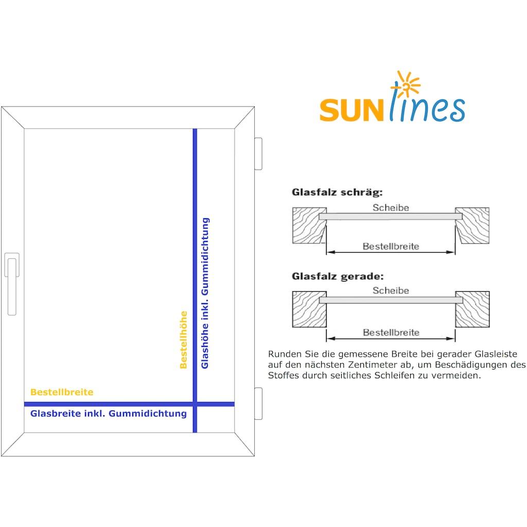 sunlines Plissee nach Mass »Start-up Style Circles«, Lichtschutz, verspannt
